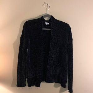 SUSINA Chenille Knit Cardigan size M